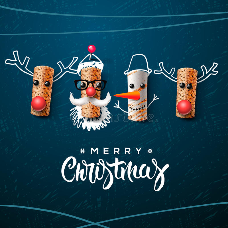 Download 圣诞节字符,圣诞老人雪人,驯鹿 向量例证. 插画 包括有 节假日, 季节, 字符, 雪人, 快活, 动画片 - 62527878
