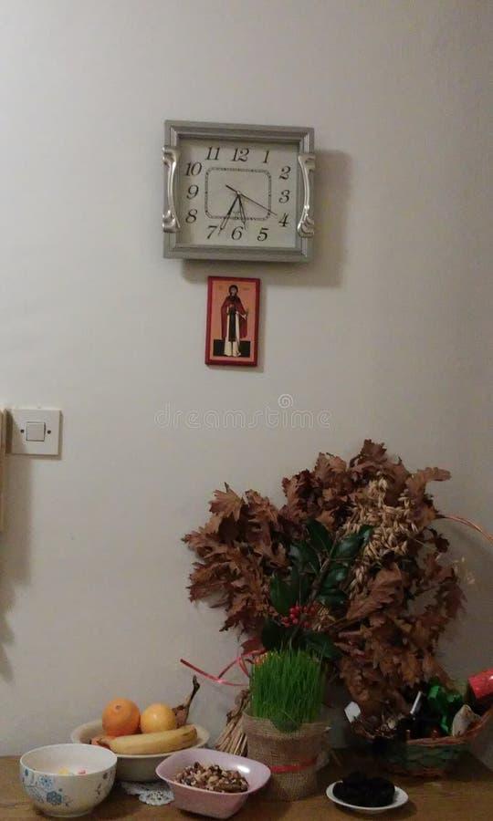 圣诞节季节正统家 免版税库存图片