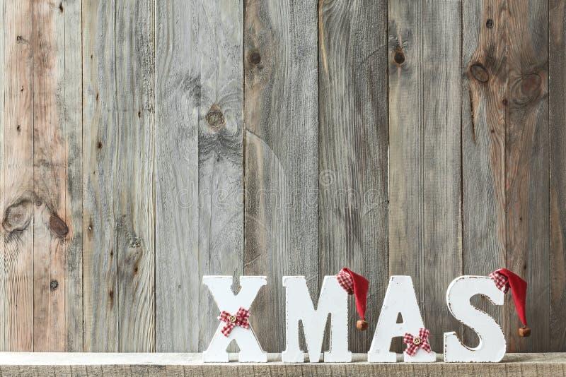 圣诞节家庭装饰 免版税图库摄影