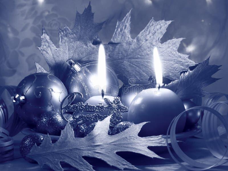 圣诞节对光检查卡片材料的照片 免版税库存照片