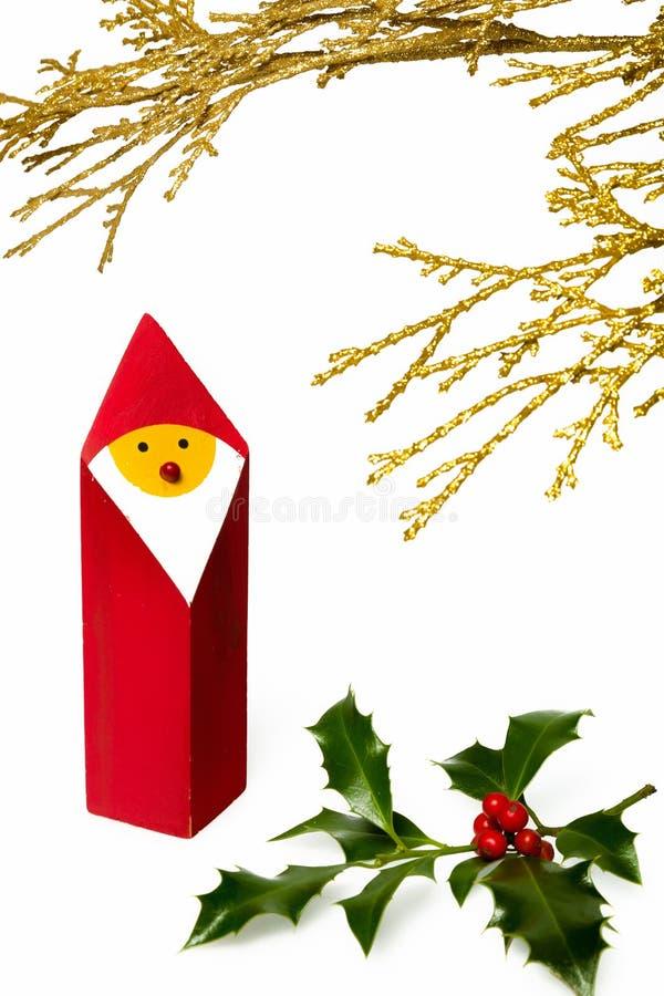 圣诞节小雕象II 库存照片