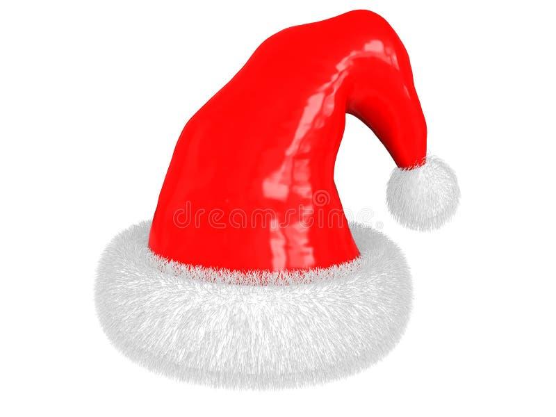 圣诞节帽子 向量例证