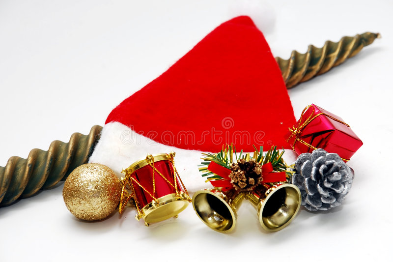 Download 圣诞节帽子 库存照片. 图片 包括有 活动, 圣诞节, 克劳斯, 基督教, 快活, 礼品, 父亲, 金子, noel - 3660590