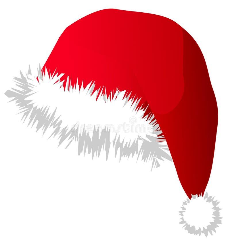 圣诞节帽子s圣诞老人 库存例证