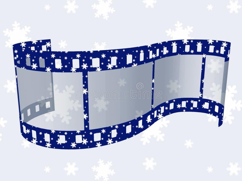 圣诞节影片数据条 皇族释放例证