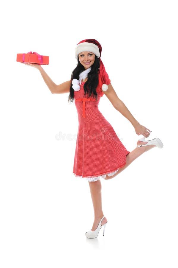 Download 圣诞节微笑的妇女 库存图片. 图片 包括有 存在, 相当, 盖帽, 克劳斯, 白种人, 棚车, 方式, 帽子 - 22358333