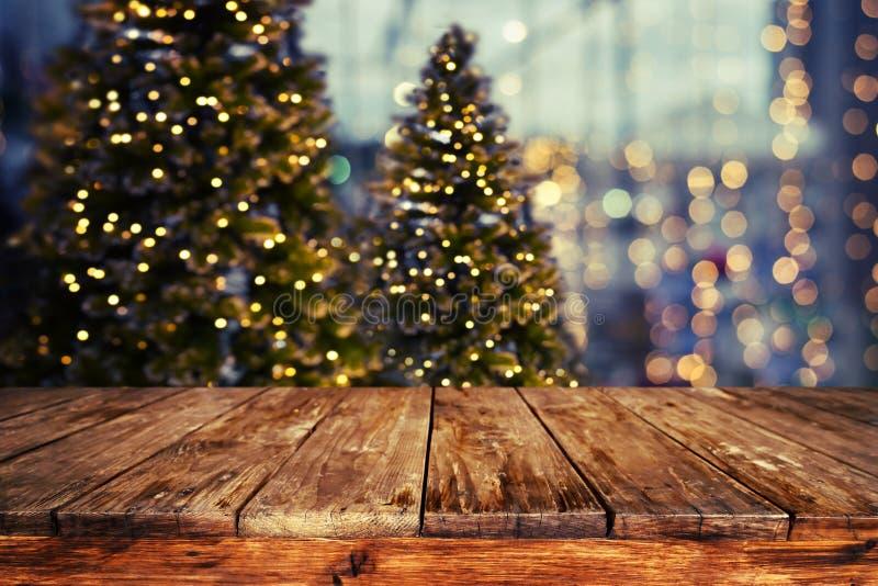 圣诞节摘要迷离背景 免版税图库摄影
