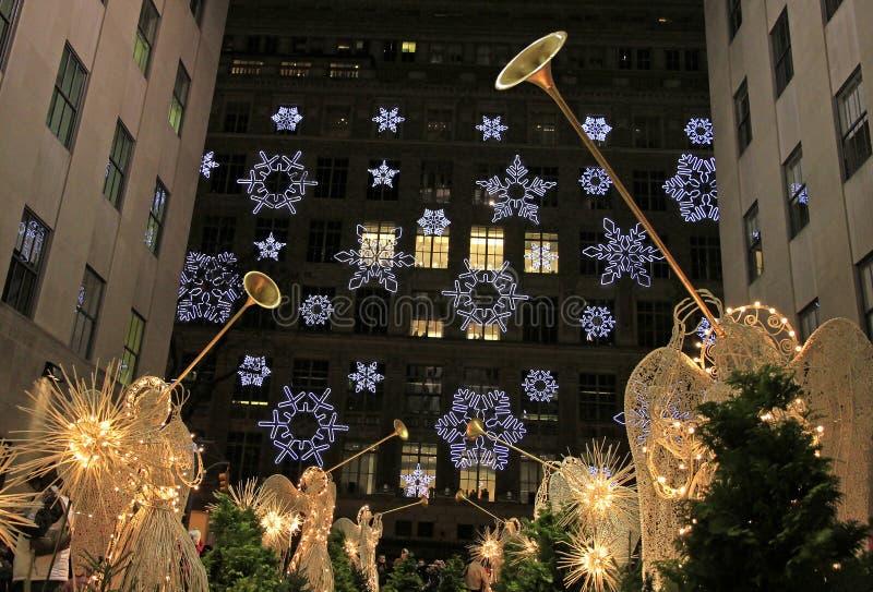 圣诞节新的季节约克 免版税库存图片