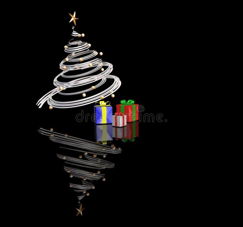 圣诞节时间 向量例证