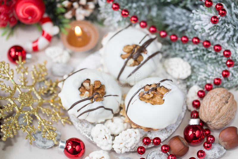 圣诞节曲奇饼查找图象查找更多我的投资组合同样系列 免版税库存照片
