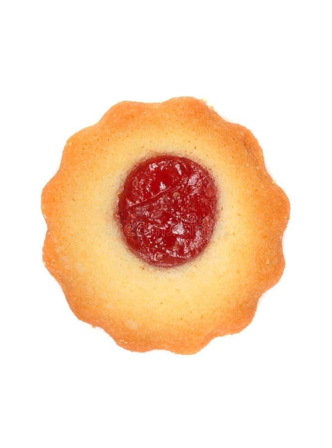 圣诞节曲奇饼莓thumbprint 库存图片