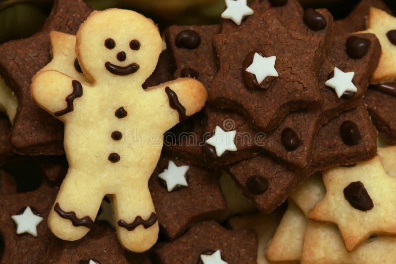 圣诞节曲奇饼 免版税图库摄影