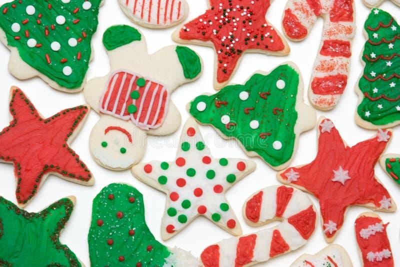 圣诞节曲奇饼 免版税库存照片