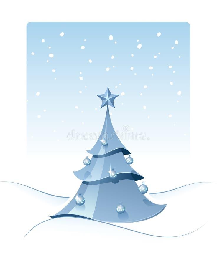 圣诞节杉树 皇族释放例证