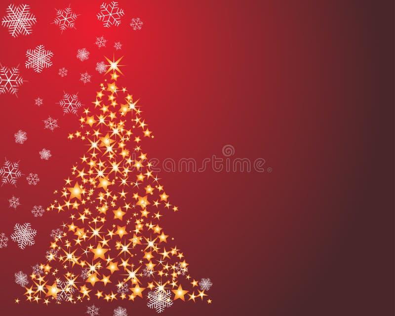 圣诞节杉树 向量例证