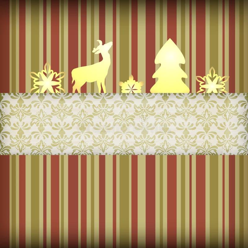 圣诞节构成 库存例证
