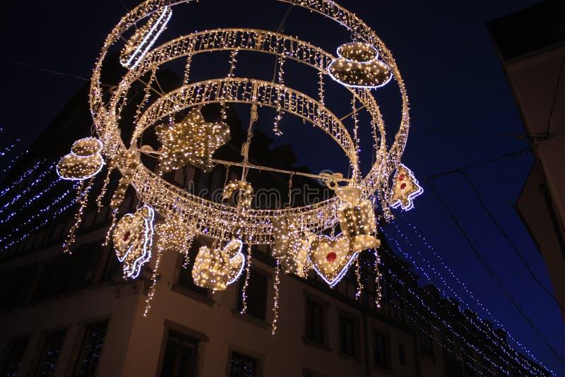 圣诞节枝形吊灯 免版税库存图片