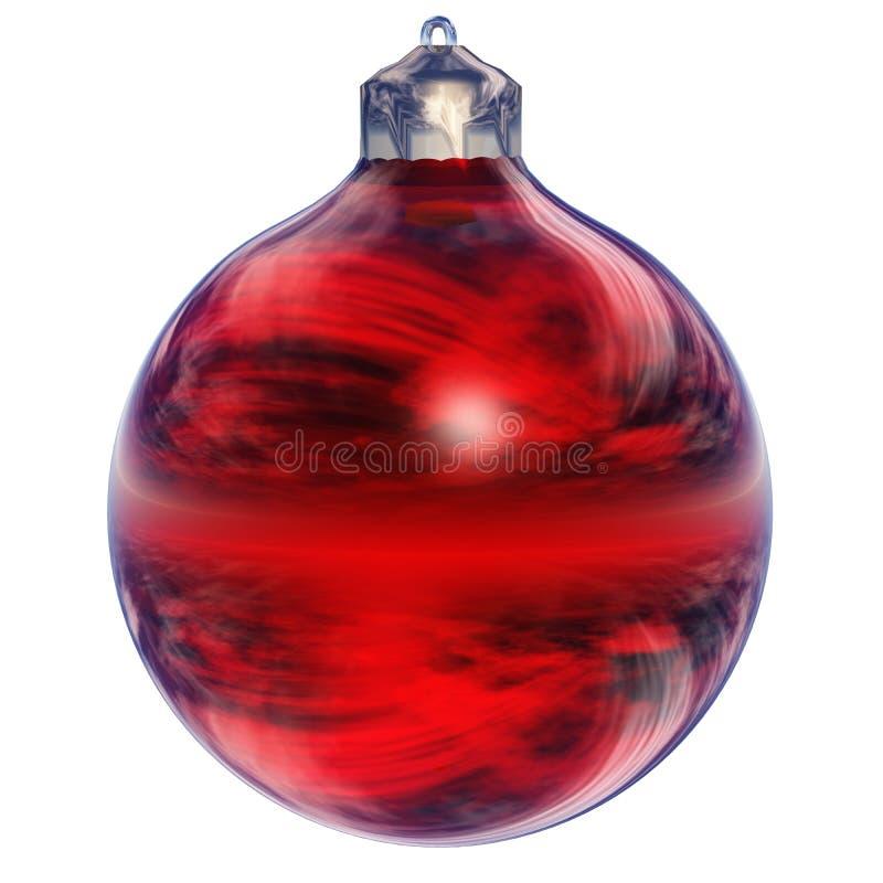 圣诞节查出的装饰品 皇族释放例证