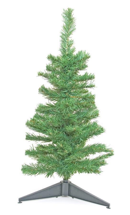 圣诞节查出结构树 库存图片