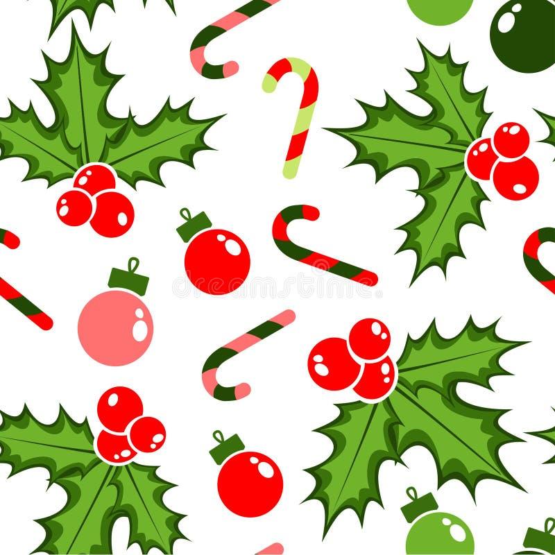 圣诞节样式为乐趣假日 皇族释放例证