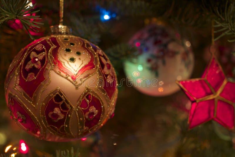 圣诞节温暖的焕发  库存照片