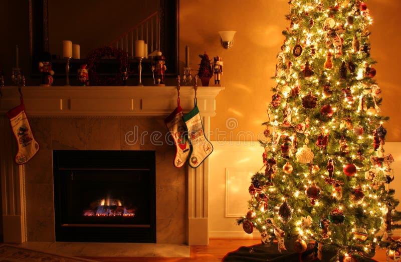 圣诞节温暖 免版税库存图片