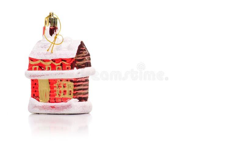 圣诞节玩具议院 图库摄影