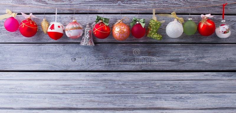 圣诞节球美丽的诗歌选  免版税库存照片