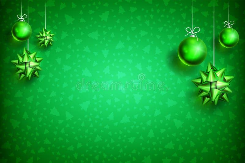 圣诞节球装饰品background2-03 皇族释放例证