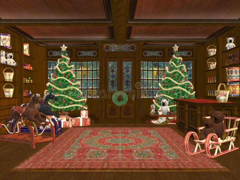 圣诞节界面 皇族释放例证