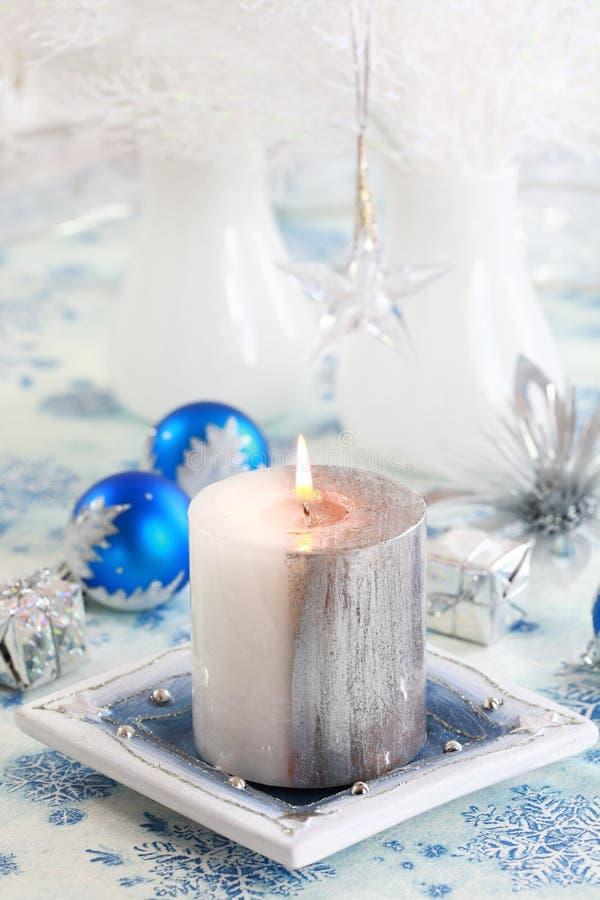 圣诞节白色 免版税库存图片