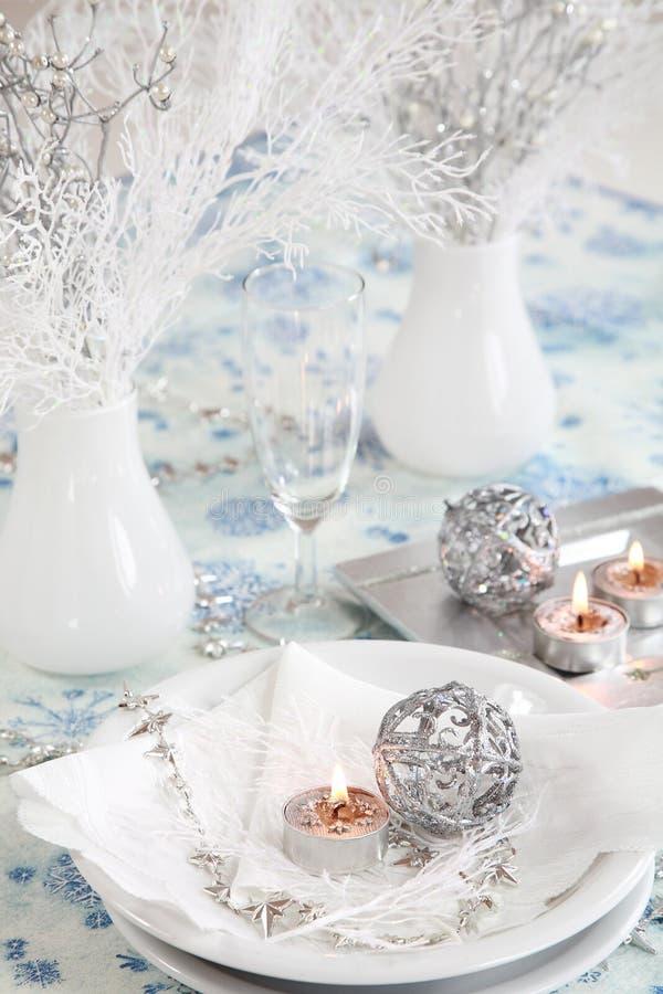 圣诞节白色 免版税库存照片