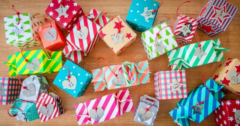 圣诞节的一点礼物 免版税库存图片