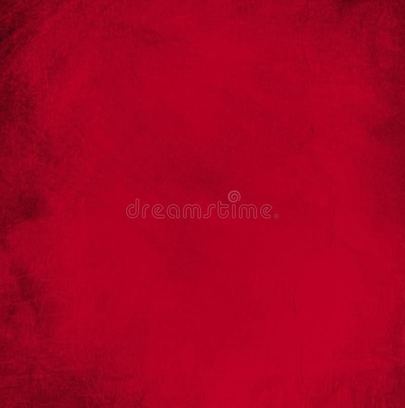 圣诞节的抽象红色背景 免版税库存照片