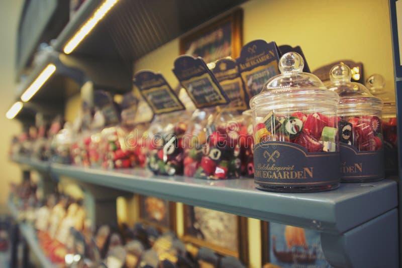 圣诞节的糖果 库存照片