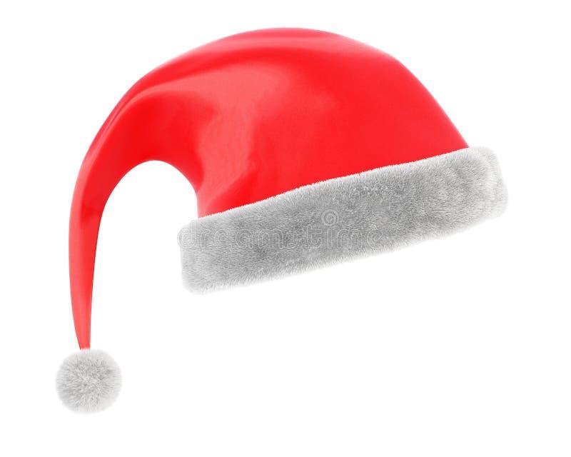 圣诞节盖帽 向量例证