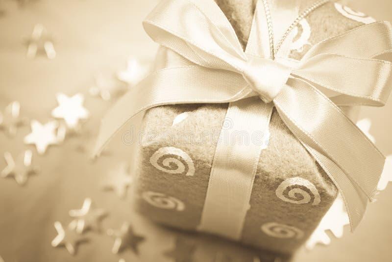 圣诞节礼品乌贼属 库存图片