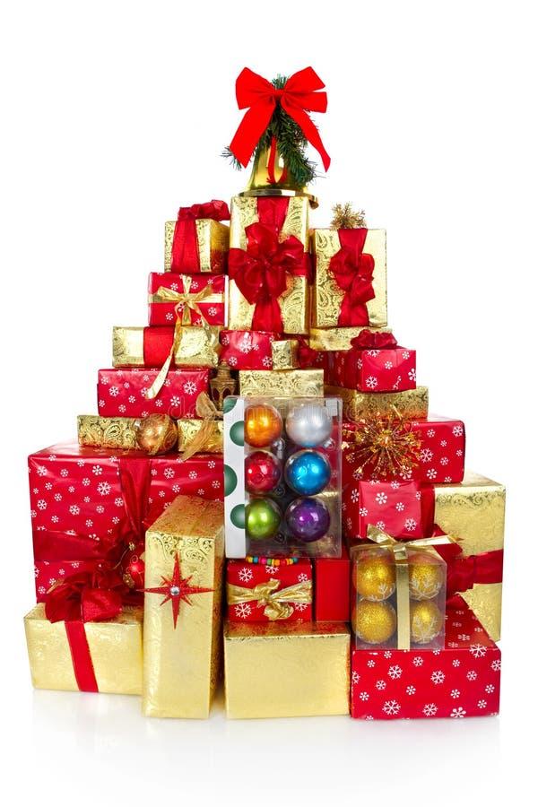 圣诞节礼品存在 库存照片
