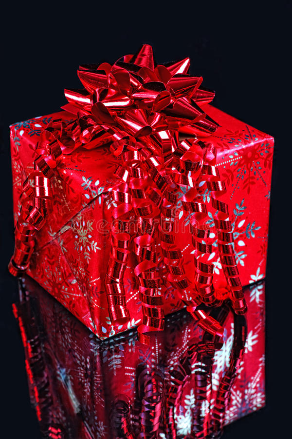 圣诞节礼品红色 图库摄影