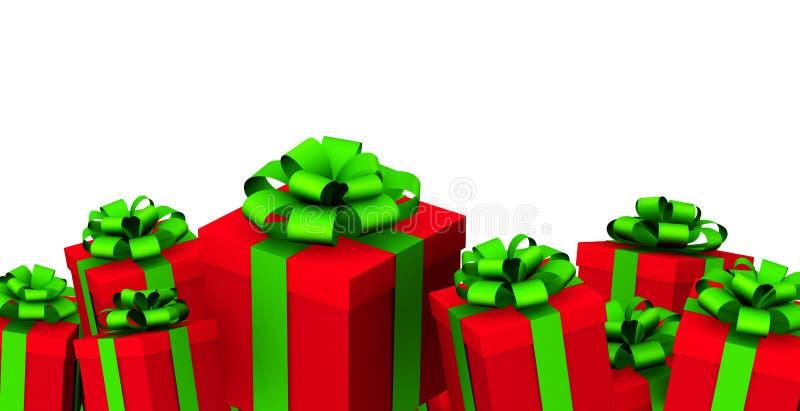 圣诞节礼品 库存例证
