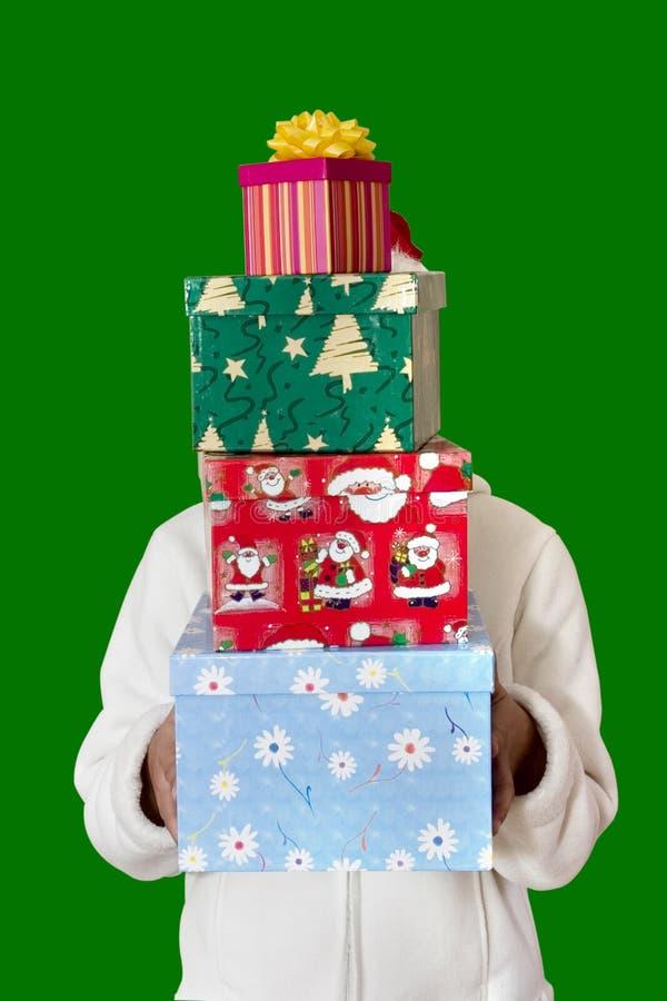 Download 圣诞节礼品 库存图片. 图片 包括有 女孩, 场合, 棚车, 绿色, 成人, 存在, 快活, 礼品, 运载, 人们 - 178841