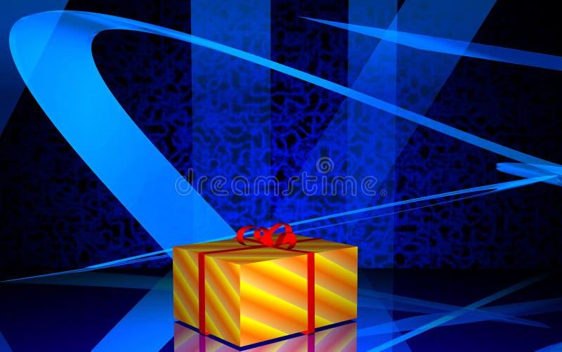 圣诞节礼品 向量例证