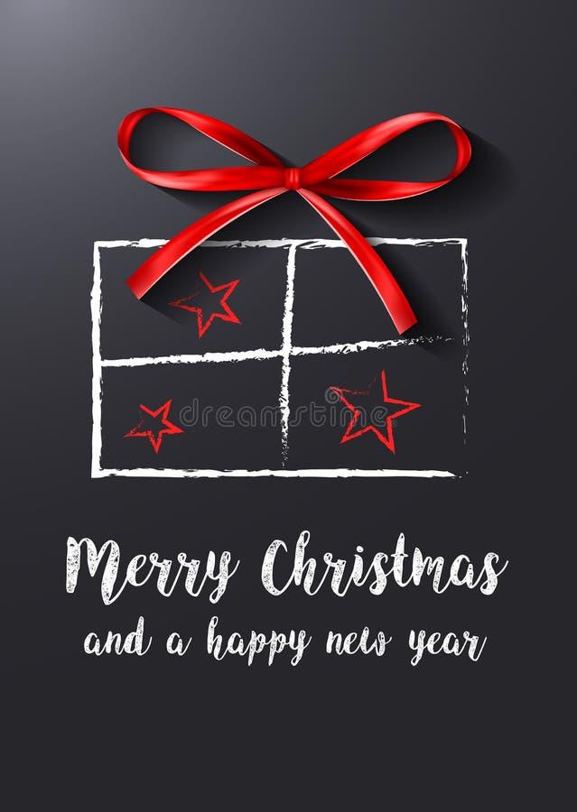 圣诞节礼物传染媒介 库存例证
