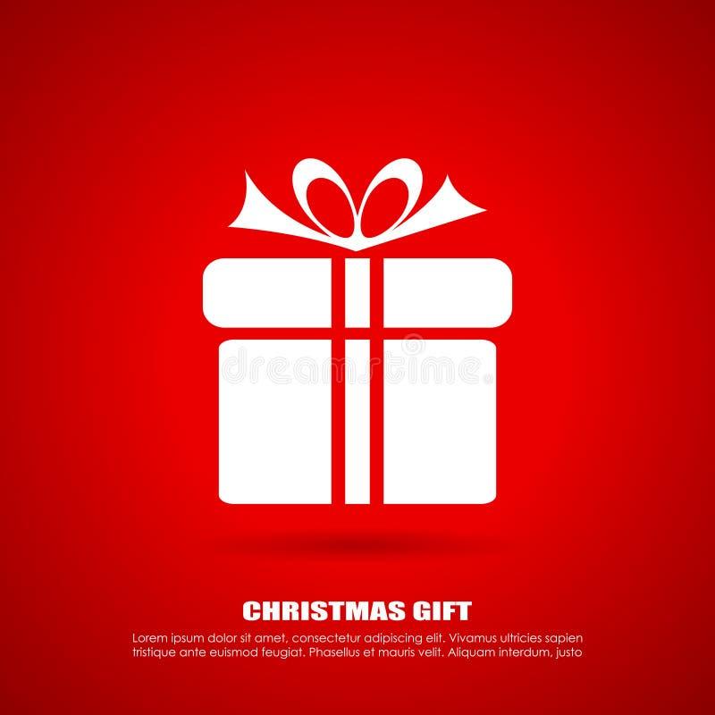 圣诞节礼物象 库存例证