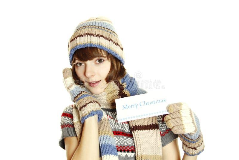 圣诞节祝贺 库存图片