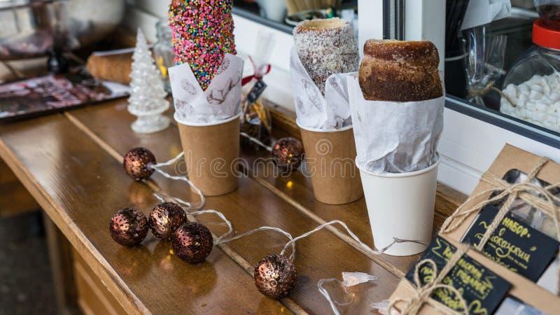 圣诞节糖果,曲奇饼,食物称呼 假日心情 E 库存照片