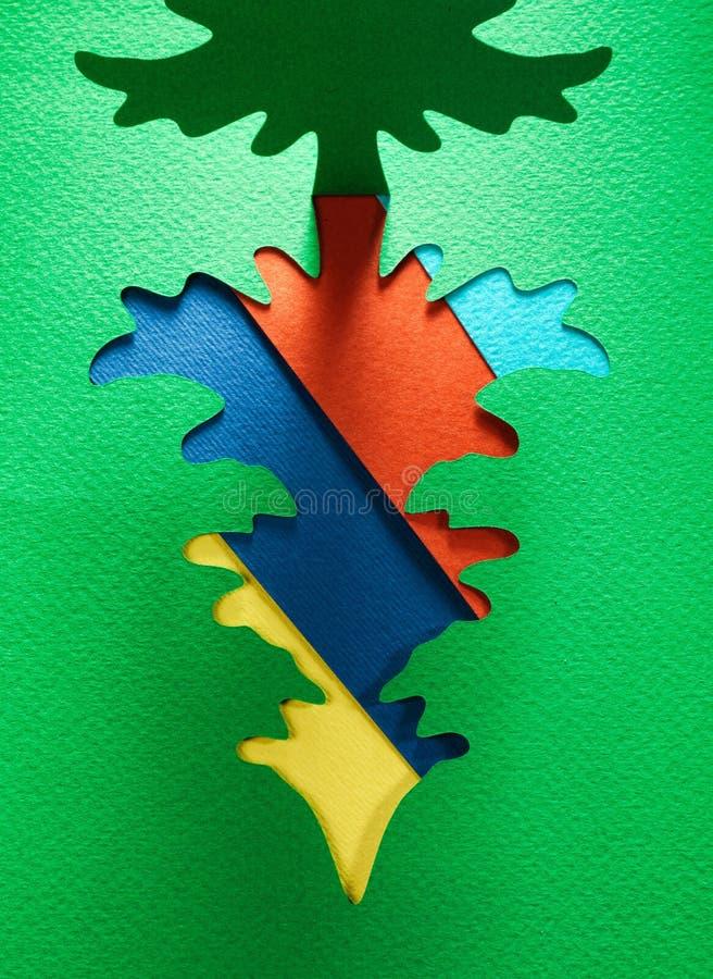圣诞节纸背景纹理, papercraft题材 库存照片
