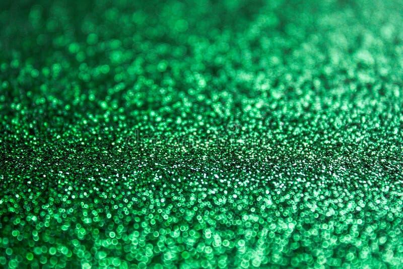 圣诞节绿色背景 免版税库存照片