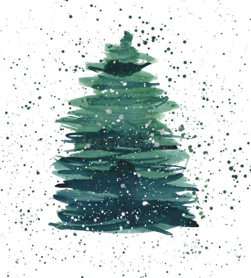 圣诞节美好的抽象图表艺术性的美妙的明亮的h 皇族释放例证