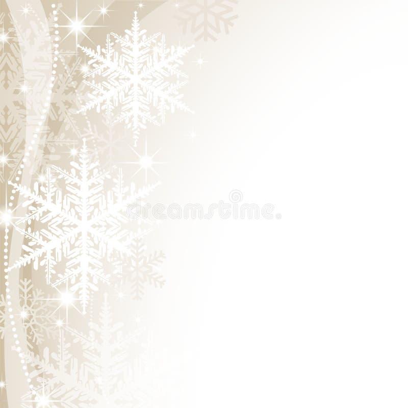 圣诞节背景 库存例证
